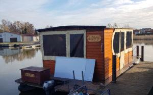 Hausboot Umbau Prozess