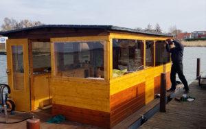 Hausboot Umbau Verschraubung