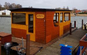 Hausboot Umbau
