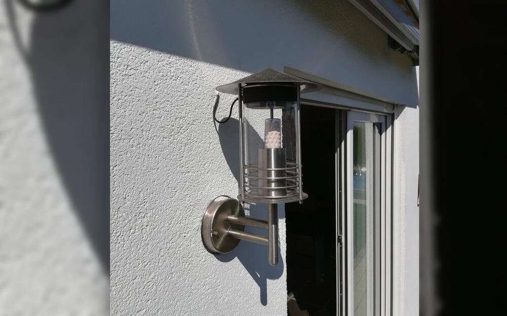 Alexa LED Lampe PLEXIGLAS® Rohr