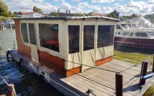 Hausboot Vorher