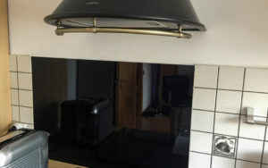 Küchenrückwand Vorher