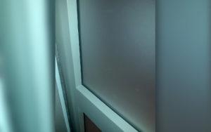 Fenster mit Scheibe Vorderseite