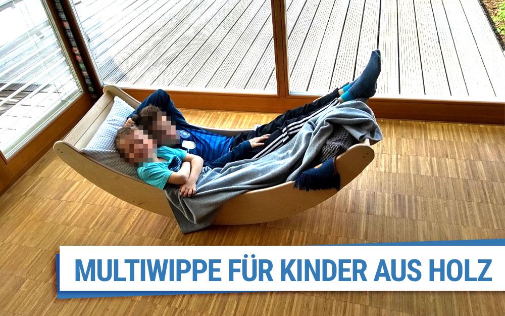 Multiwippe für Kinder aus Holz
