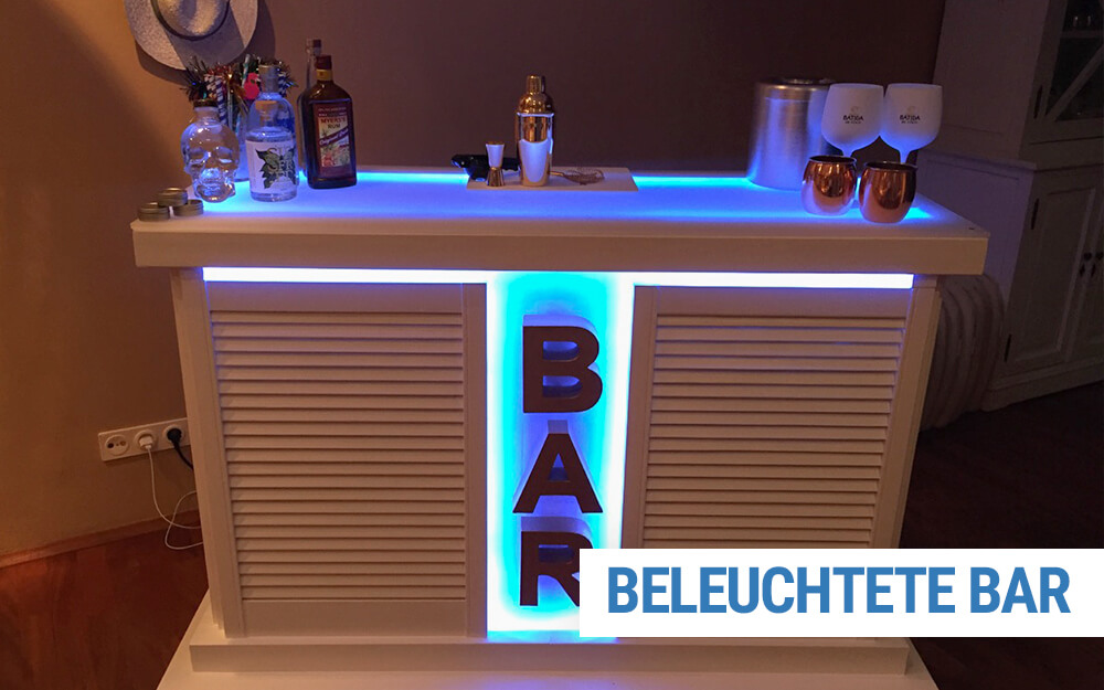 Beleuchtete Bar selber bauen